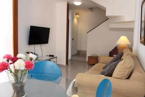 Seating area sa Duplex beach, 2 bedrooms, terrace & pool