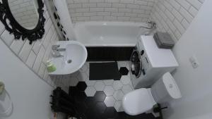 Ванная комната в Brestappart Loft Dzerzhynskogo 26