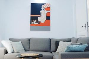 Area tempat duduk di Beautiful & Cosy apartment - Old Town