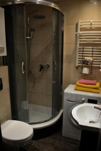 Kúpeľňa v ubytovaní DRAGON Apartments (Helena)