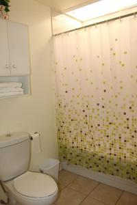 A bathroom at Les Appartements de la Belle Rive 2
