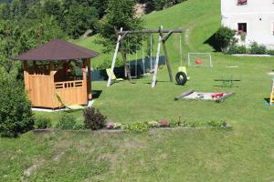 Children's play area at Apartments Peternelj