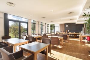 Restaurant ou autre lieu de restauration dans l'établissement Odalys City Lyon Bioparc