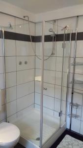 Ein Badezimmer in der Unterkunft Ferienwohnung Harbusch