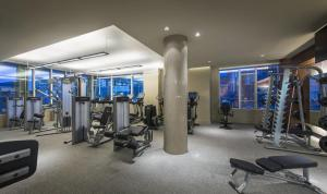 The fitness center and/or fitness facilities at Global Luxury Suites at Boston Seaport
