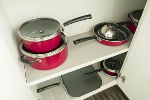 Küche/Küchenzeile in der Unterkunft Downtown Oasis in DTLA