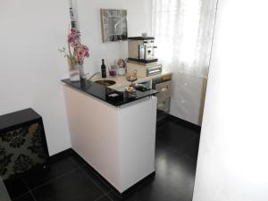 A kitchen or kitchenette at Residence Hotel Le Viole