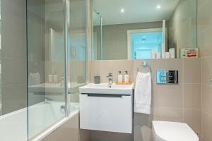 A bathroom at Merino Hospitality