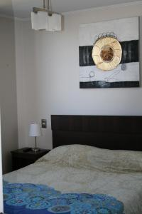 A bed or beds in a room at Departamento 9 Norte