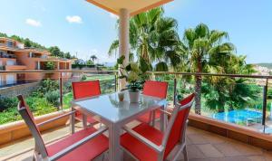 A balcony or terrace at Apartamentos Benitachell