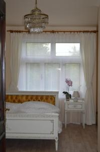 A bed or beds in a room at Ubytovani Sarka