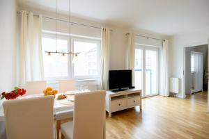 TV/Unterhaltungsangebot in der Unterkunft Vienna Central Apartments