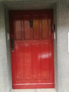 The facade or entrance of Gruga Apartment an der Messe