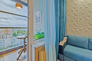 Балкон или терраса в Apart Hotel Pulkovo Meridian