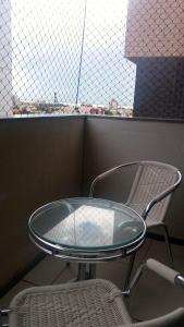 A balcony or terrace at Portal dos Mares