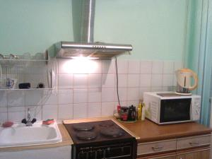 A kitchen or kitchenette at Leningradskaya 30