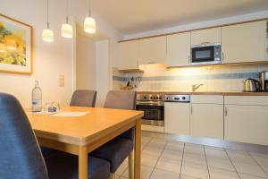 Küche/Küchenzeile in der Unterkunft Villa Ahlbeck Haus 2