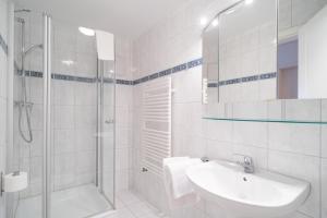 Ein Badezimmer in der Unterkunft Villa Ahlbeck Haus 2