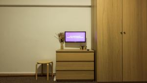 A television and/or entertainment center at Inner Circle Studio