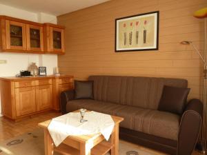 Ein Sitzbereich in der Unterkunft Gästehaus Sonnenhang