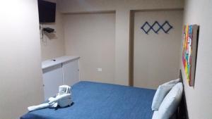 Cama ou camas em um quarto em Flat Htur - Porto De Galinhas