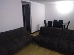 Zona de estar de Apto privado full en unidad cerrada