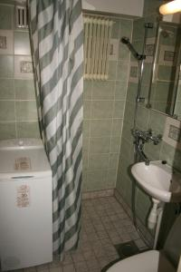 A bathroom at Twin bedroom apartment at the heart of Pori! (ID 2981)