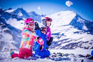 Bergparadies v zime