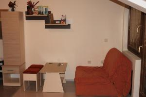 Кът за сядане в Luccia Apartments - Ohrid City Centre