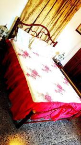 Ein Bett oder Betten in einem Zimmer der Unterkunft Casa Yahima Municipio Playa