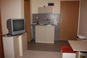 Телевизия и/или развлекателен център в Luccia Apartments - Ohrid City Centre