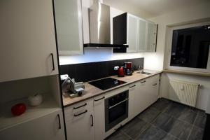 Küche/Küchenzeile in der Unterkunft Germina Apart