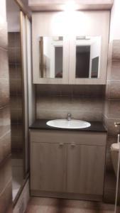 A bathroom at La Sigua