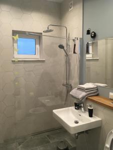 Ванная комната в Raushen Elegance Apartments
