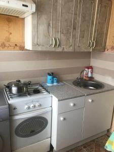 Кухня или мини-кухня в Апартамента на Большой 2