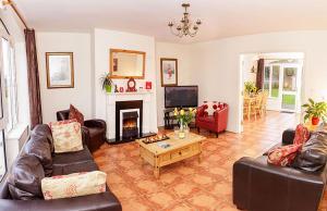 A seating area at Kerry Holiday Homes at the Killarney Holiday Village