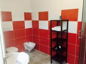 A bathroom at Casa Lampone