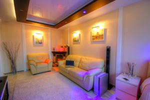 Гостиная зона в Premium apartments in Yasenevo