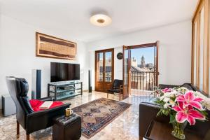 Zona de estar de Two-bedroom apartment Mary