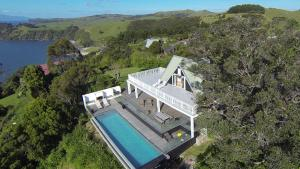 A bird's-eye view of Claire's Luxury Hideaway