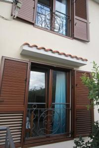 A balcony or terrace at Apartments Villa Garden Del Mare