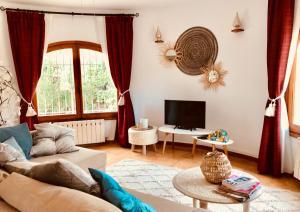 Zona de estar de Casa Charme Boutique Apartment 'adults only'