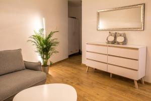 Część wypoczynkowa w obiekcie Brzezicki Apartament Centrum