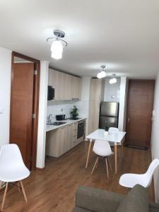 Una cocina o zona de cocina en Arriendos LC
