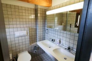 A bathroom at Cariboni