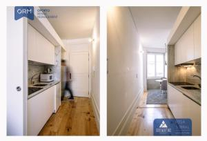 A kitchen or kitchenette at ORM - 3 C´s Apartments