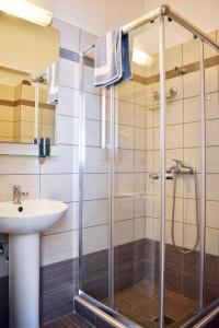 A bathroom at Ostria's House