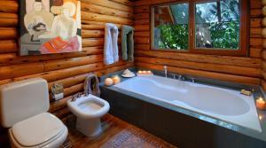 Un baño de Casa La Huala