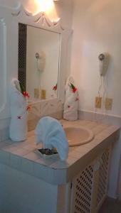 A bathroom at La Dolce Vita Residence