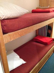 A bunk bed or bunk beds in a room at Chalet club III Tignes val claret